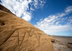 Sapodilla Hill Shipwreck Carvings