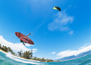 Try Kiteboarding at Long Bay Beach