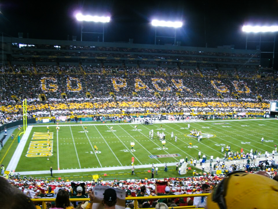 Experience Lambeau Field one of the best things to do in Wisconsin