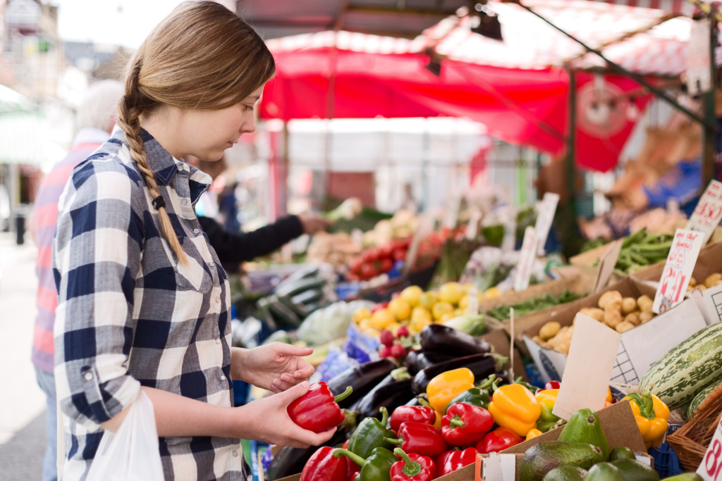 Shop for Fresh Finds at a Farmers Market