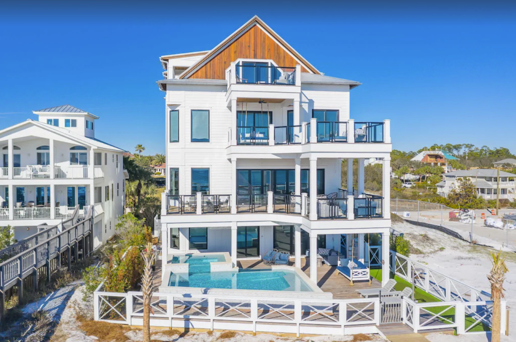 Luxury 11-bedroom Beachfront Chateau with Pool and Beach Views - West Panama City Beach, Florida