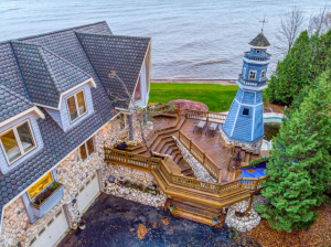 3-story Lighthouse with Waterfront Adventure