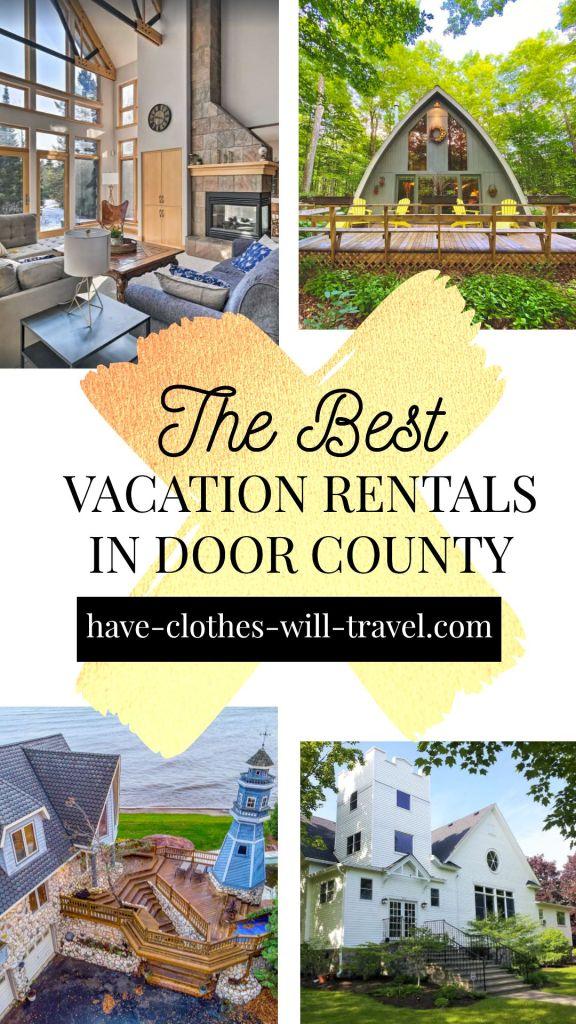 20+ of the Coolest VRBO Rentals in Door County, Wisconsin