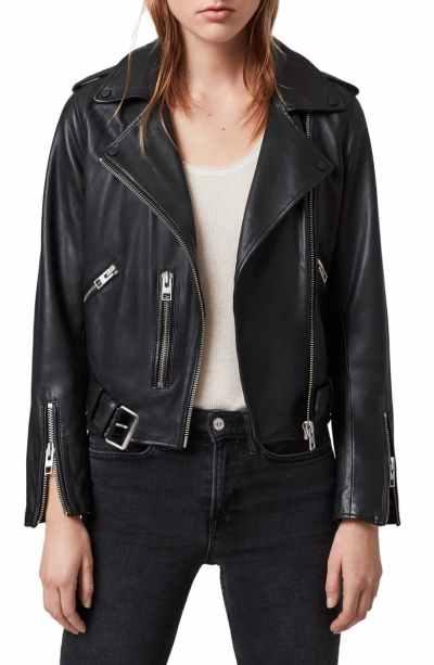 Balfern Leather Biker Jacket ALLSAINTS