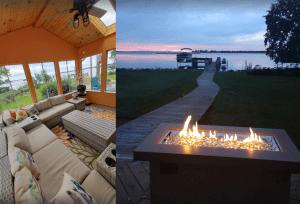 5-bedroom Lakehouse with Sunset Views - Oshkosh