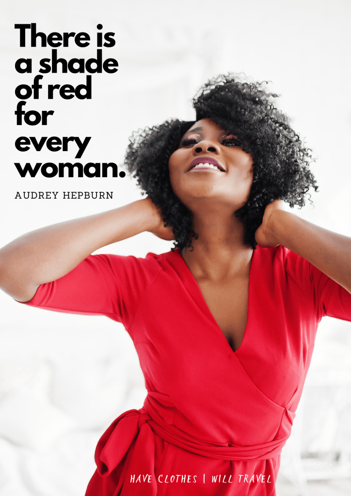 50+ Red Dress Quotes for the Perfect Instagram Caption
