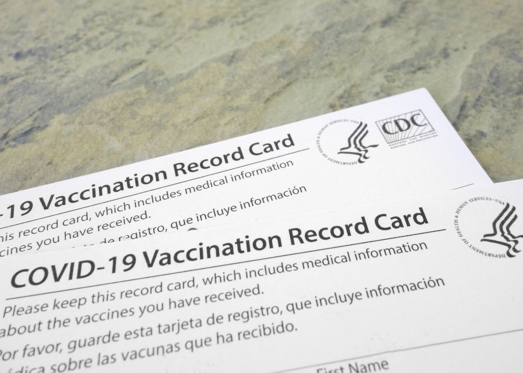 Some Restaurants and Bars Require You to Show Your Vaccination Card in Order to Enter