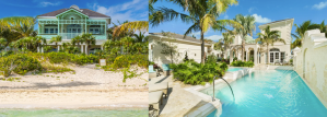 Luxury 6-bedroom Oceanfront Villa with Pool and Courtyard