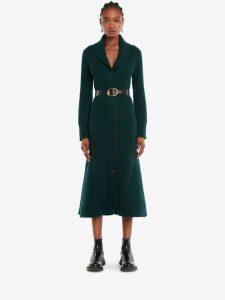 Alexander McQueen Shawl Collar Coat