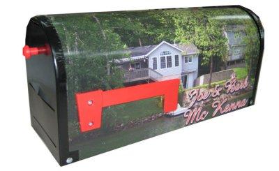 Rural Metal Custom Mailbox