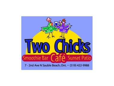 Two Chicks Logo