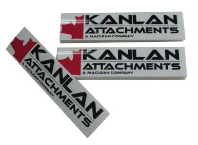 Kanlan Attachments Sign