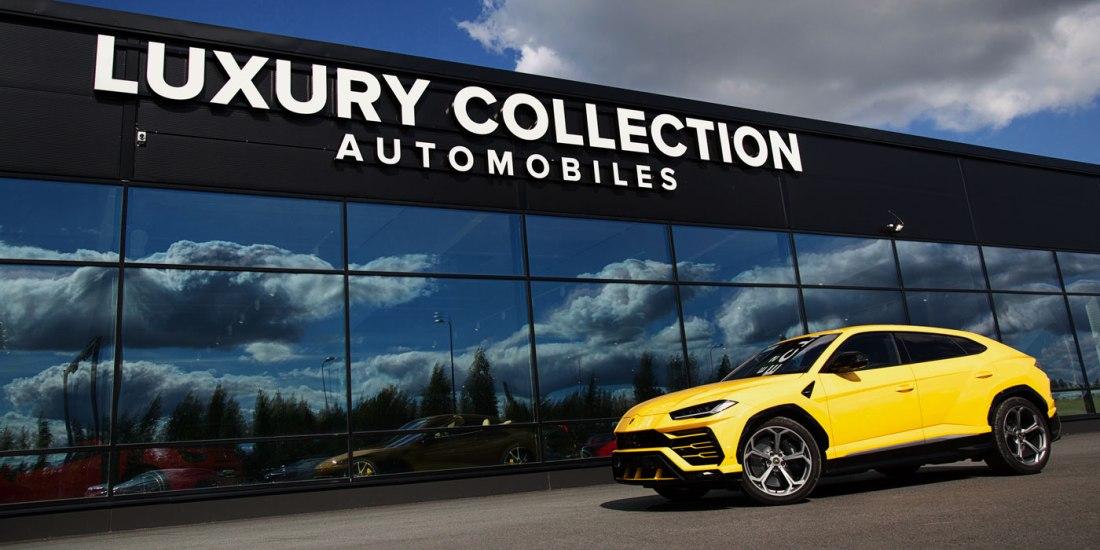 Lamborghini Urusta maahantuo ja myy Luxury Collection Automobiles Oy Lempäälässä.