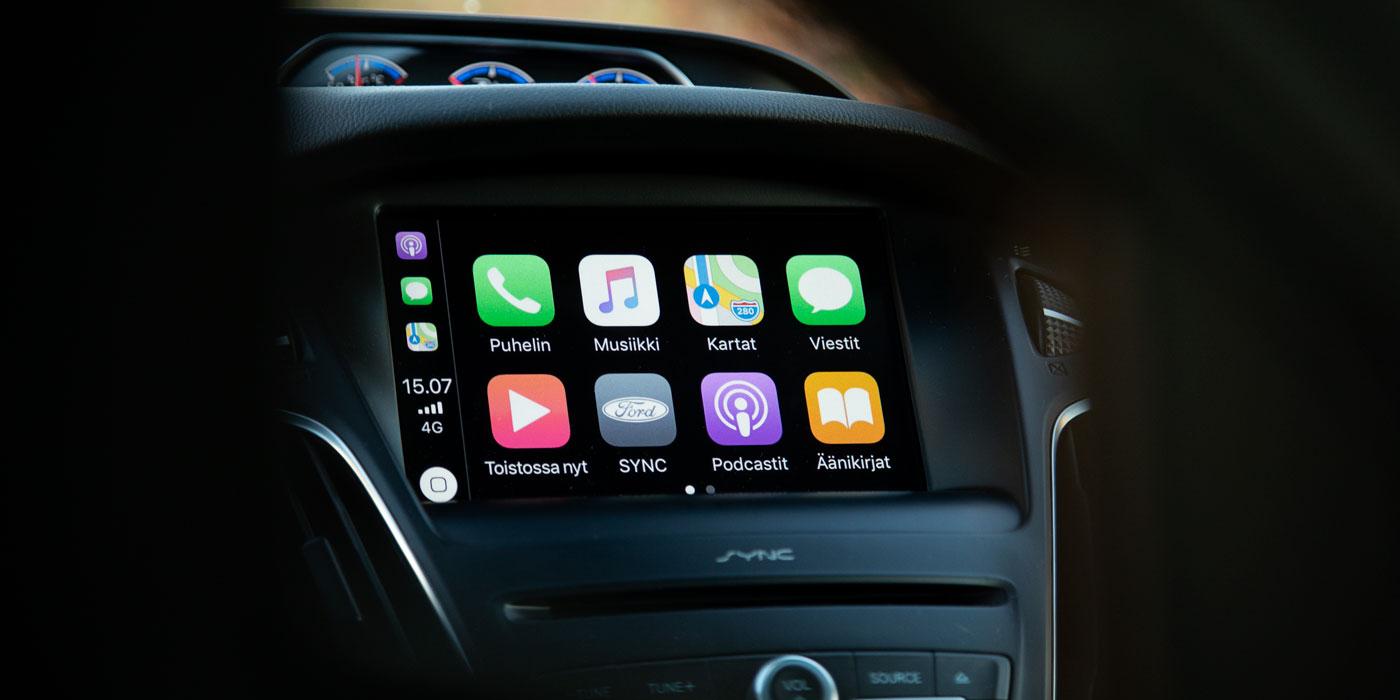 Ford SYNC3 ja Apple Carplay