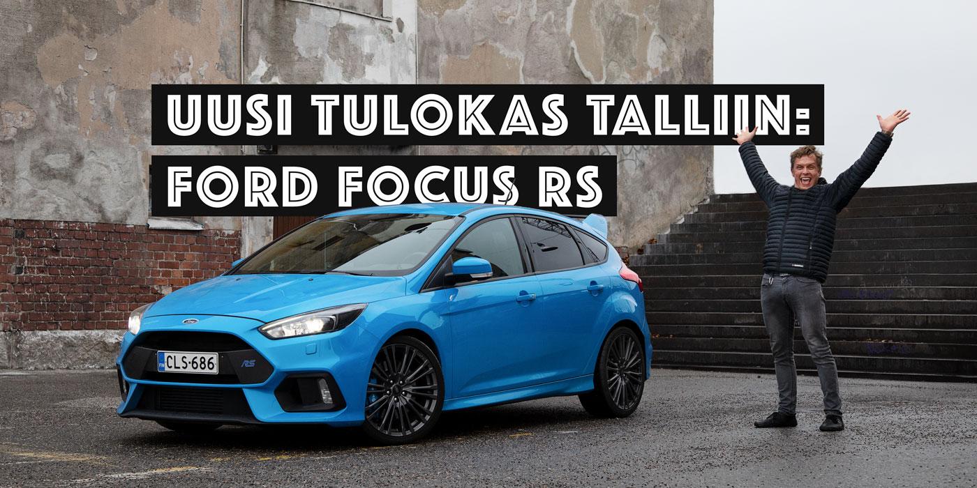 Ford Focus Rs Vs St >> Ford Focus Rs Herateostoksen Pikkutarkka Anatomia