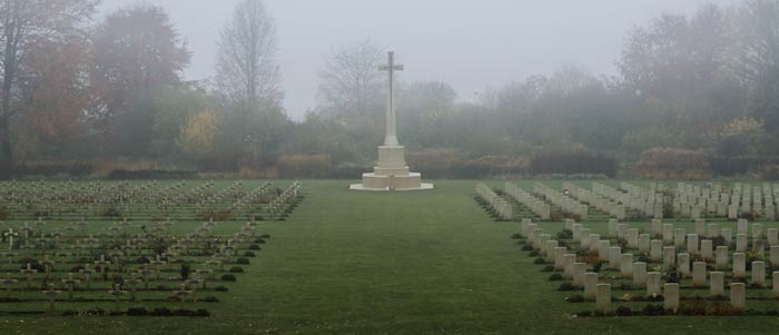 The Anglo - French Cemetery