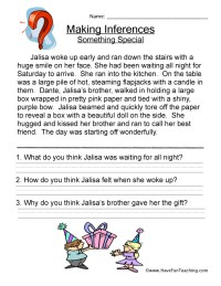 Collection of Making Inferences Worksheets 3rd Grade ...