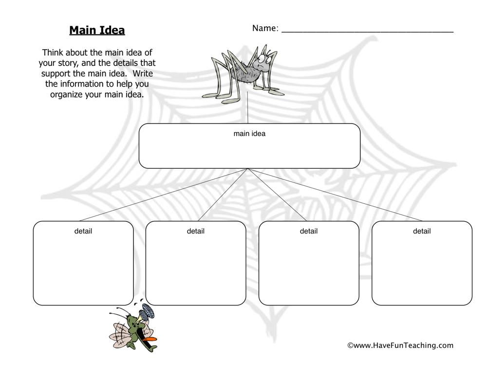 Main Idea Worksheets For Preschool. Main. Best Free