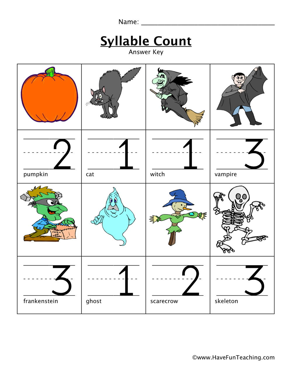 hight resolution of Penguin Syllable Worksheet   Printable Worksheets and Activities for  Teachers