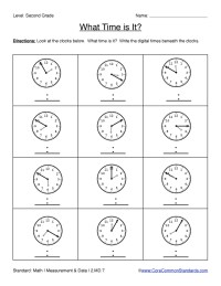 Worksheet. 2nd Grade Common Core Worksheets. Hunterhq Free
