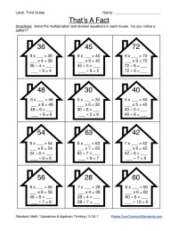 Third Grade Common Core Worksheets | Have Fun Teaching