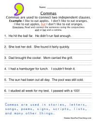 Free Punctuation Worksheets | Have Fun Teaching
