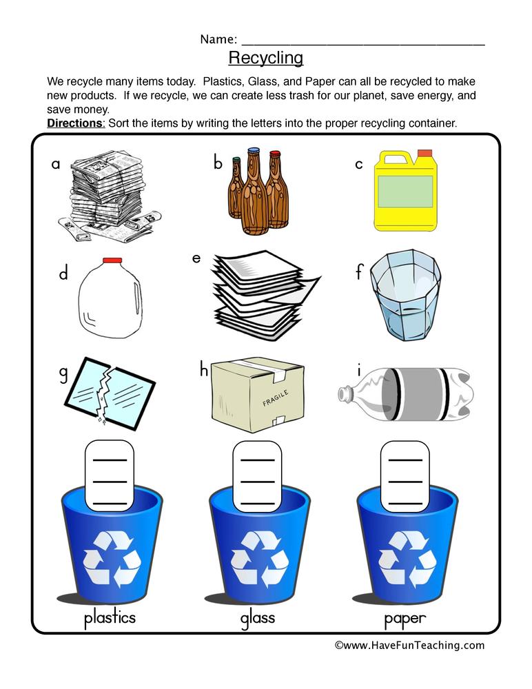 Reuse Reduce Printable Coloring