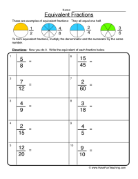 4th Grade  Adding Fractions Worksheets 4th Grade