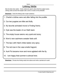 verb forms worksheet | Have Fun Teaching