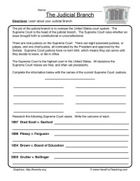 Government Worksheets | Have Fun Teaching