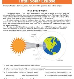Total Solar Eclipse Worksheet • Have Fun Teaching [ 1294 x 1000 Pixel ]