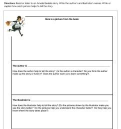 Amelia Bedelia Author and Illustrator Worksheet • Have Fun Teaching [ 1294 x 1000 Pixel ]