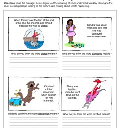 Context Clues Identifying Word Meaning Worksheet • Have Fun Teaching [ 1294 x 1000 Pixel ]