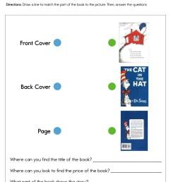 Dr. Seuss Book Parts Worksheet • Have Fun Teaching [ 1294 x 1000 Pixel ]