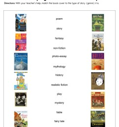 Identifying the Genre of a Story Worksheet • Have Fun Teaching [ 1294 x 1000 Pixel ]