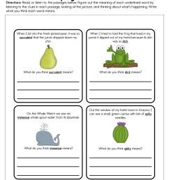 Identifying Unknown Words Worksheet • Have Fun Teaching [ 1294 x 1000 Pixel ]