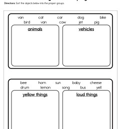 Sorting and Grouping Worksheet • Have Fun Teaching [ 1294 x 1000 Pixel ]