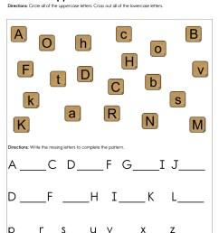 Uppercase and Lowercase Worksheet • Have Fun Teaching [ 1294 x 1000 Pixel ]
