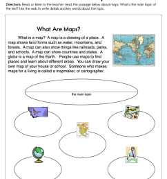 What are Maps Worksheet • Have Fun Teaching [ 1294 x 1000 Pixel ]