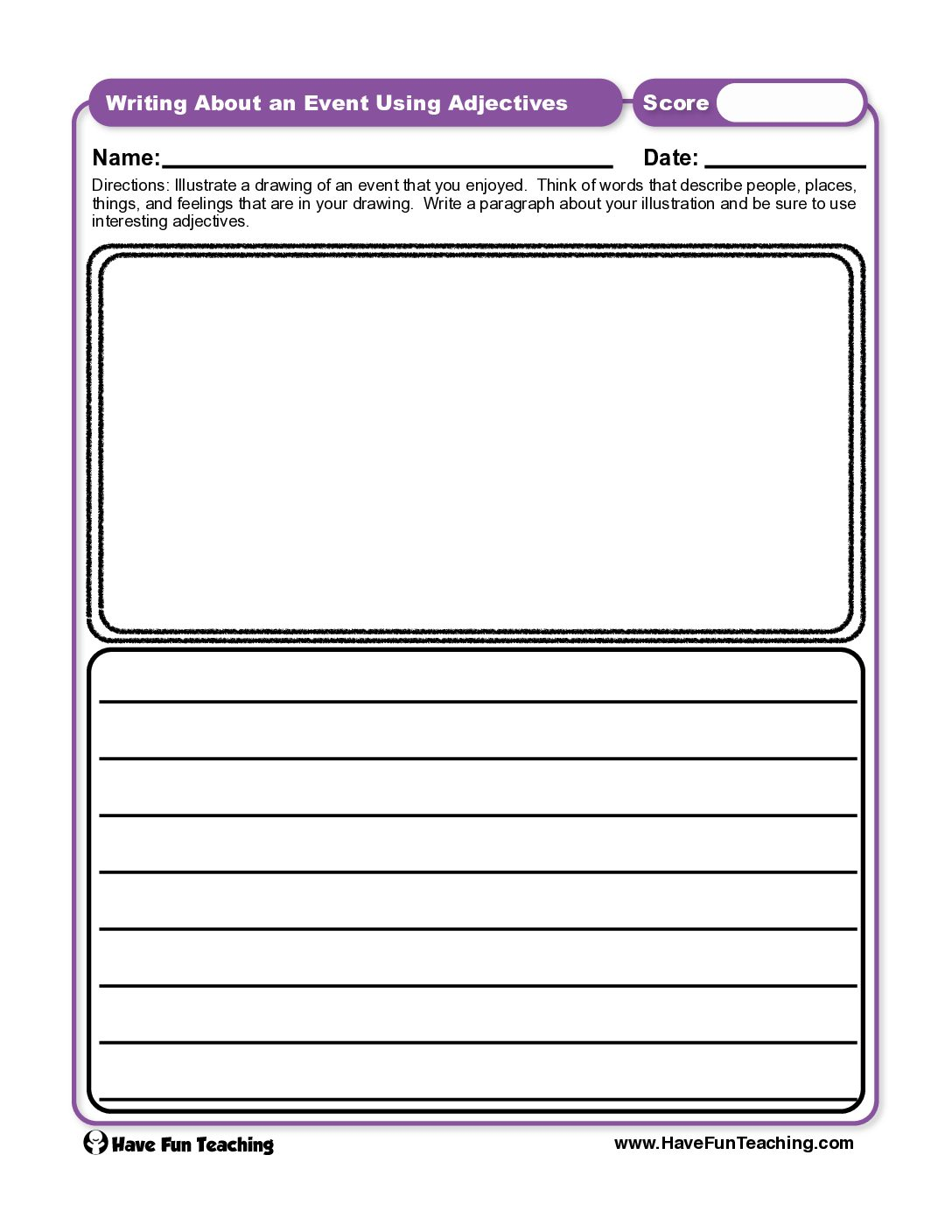 hight resolution of Nouns Worksheets • Have Fun Teaching