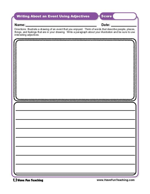 small resolution of Nouns Worksheets • Have Fun Teaching
