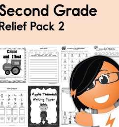Second Grade Coronavirus Relief Pack 2 • Have Fun Teaching [ 1000 x 1000 Pixel ]
