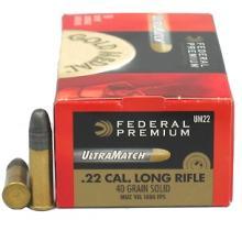 Federal 22 ammo