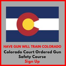 Colorado Court Ordered Gun Safety Course