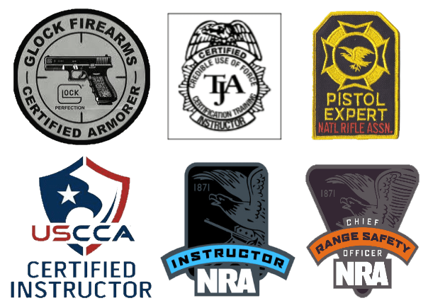 Firearms Instructor Patches