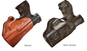 proper concealed carry holster