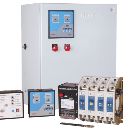 four pole instaline automatic transfer switch with primary protection from 100 a 160 a [ 1200 x 1140 Pixel ]