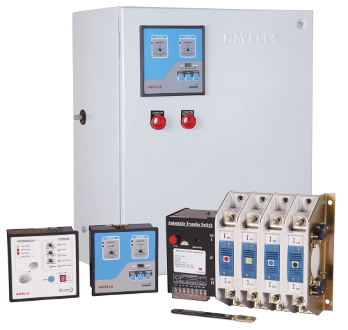 small resolution of four pole instaline automatic transfer switch with primary protection from 100 a 160 a