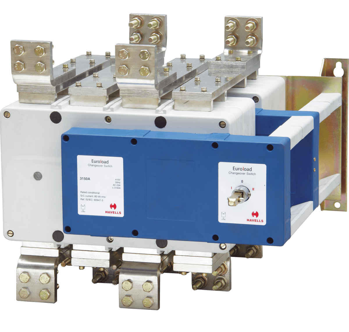 hight resolution of euroload changeover switch size 5 four pole ss enclosure