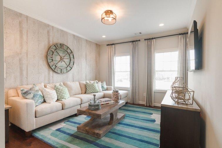 Haven-Design-Works-Atlanta-Front-Door-Shadowbrook-Crossing-Loft-wood-wallpaper